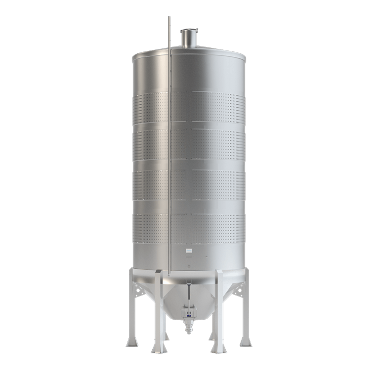 Tank With Mechanical Discharge