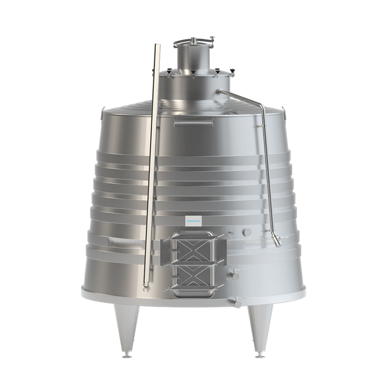 Tank with Conical Body